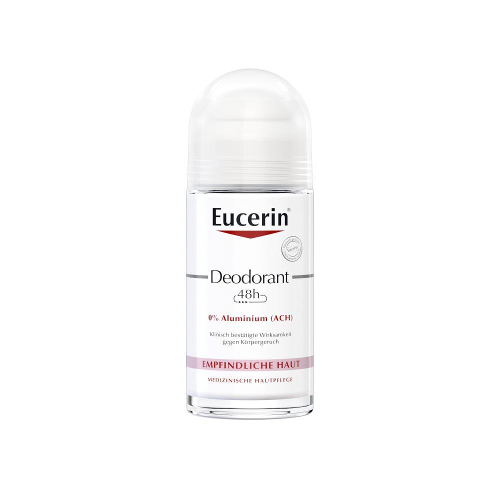 Beiersdorf AG Eucerin Eucerin Deodorant Roll-on Empfindliche Haut 48h 0% Aluminium 11692900