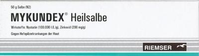 RIEMSER Pharma GmbH Mykundex Heilsalbe 02747341