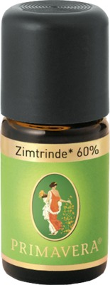 Primavera Life GmbH ZIMTRINDE 60% kbA ätherisches Öl 02455549