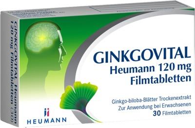 HEUMANN PHARMA GmbH & Co. Generica KG GINKGOVITAL Heumann 120mg 11526225