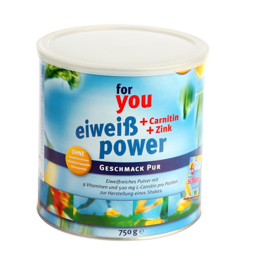 For You eHealth GmbH FOR YOU Eiweiß Power Pur 10183680