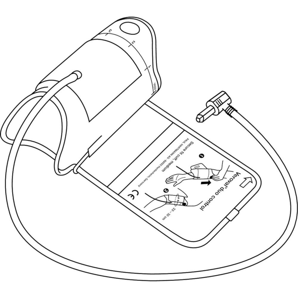 Veroval Duo Control Zugbügelmanschette M 22-32 Cm
