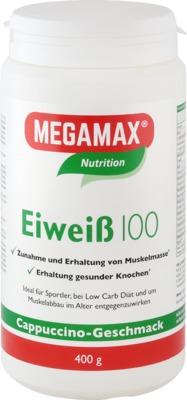 Megamax B.V. EIWEISS 100 Cappuccino Megamax Pulver 04316898