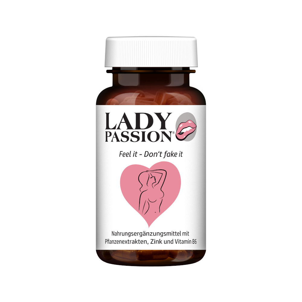 HCLM Health GmbH Lady Passion Libido mit Ashwagandha Maca Ginseng 16886649