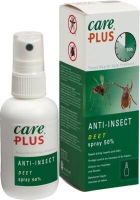 Tropenzorg B.V. CARE PLUS Anti-Insect Deet 50% Spray 12731223