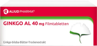 ALIUD Pharma GmbH Ginkgo AL 40mg 06565074