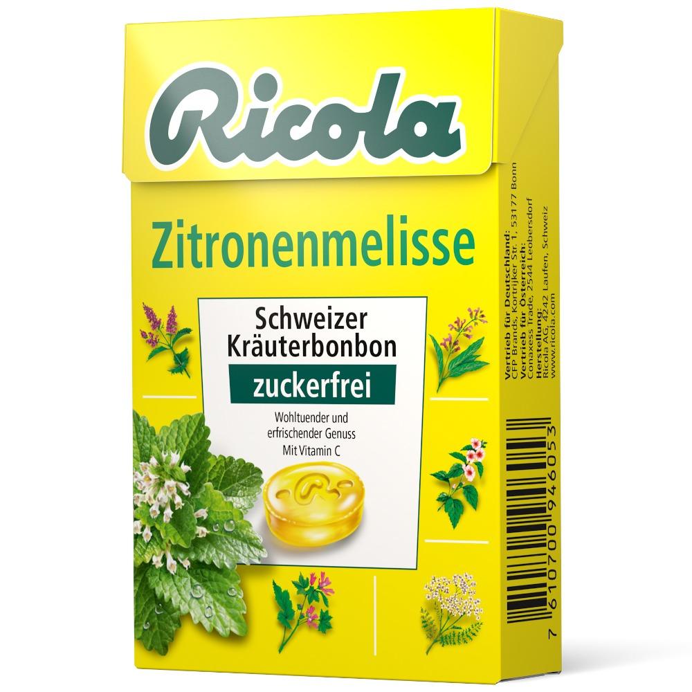 Queisser Pharma GmbH & Co. KG RICOLA o.Z.Box Zitronenmelisse Bonbons 03648782