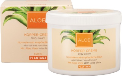 Hager Pharma GmbH PLANTANA Aloe Vera Körper Creme 05375615