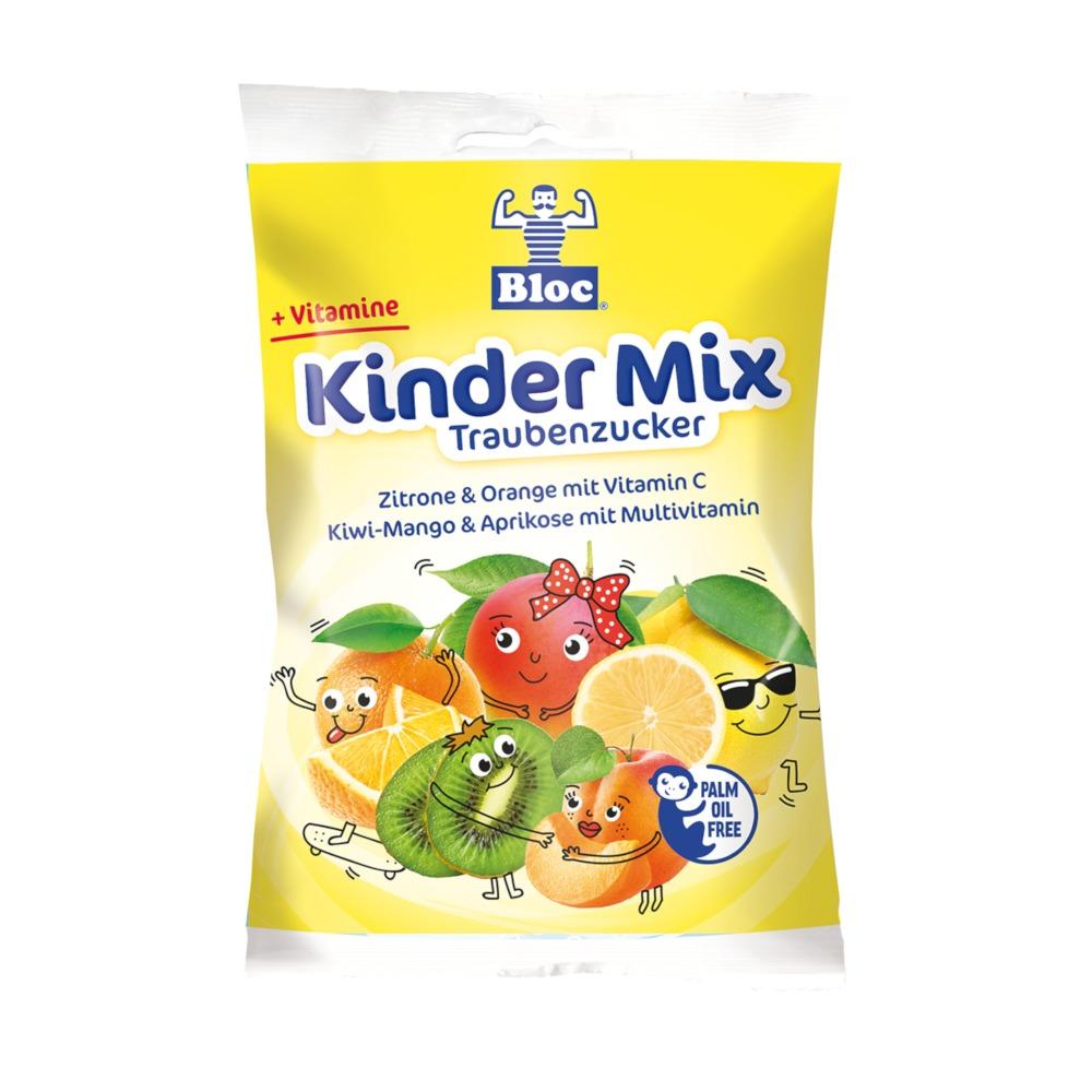 Bloc Kinder Mix Traubenzucker verschiedene Geschmacksrichtungen Beutel