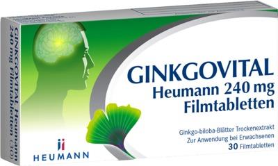 HEUMANN PHARMA GmbH & Co. Generica KG GINKGOVITAL Heumann 240mg 11526260