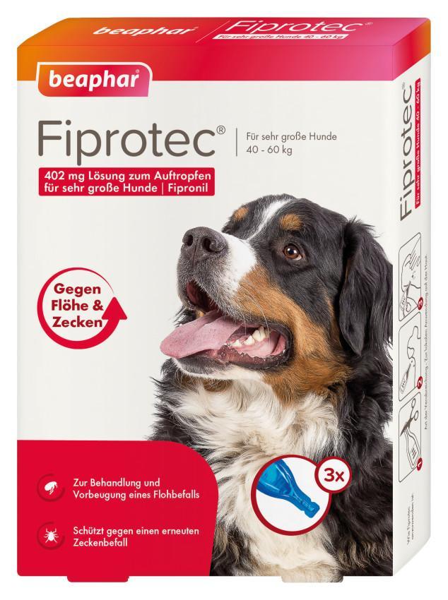 Beaphar B.V. FIPROtec 402mg Lösung zum Auftragen für sehr große Hunde 12568220