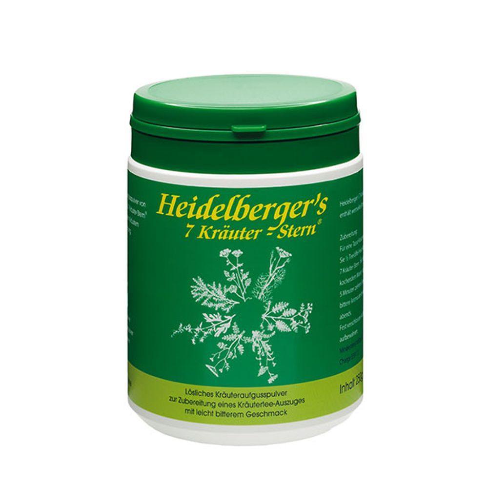 Gut Saunstorf gGmbH HEIDELBERGERS 7 Kräuter Stern Pulver 00157658