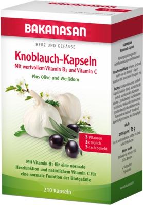 Roha Arzneimittel GmbH BAKANASAN Knoblauch-Kapseln 11617376
