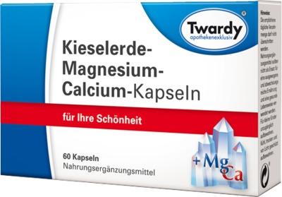 KIESELERDE MAGNESIUM Calcium Kapseln