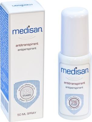 Curaskin Medikosmetik MEDISAN Plus Antitranspirant Deo Spray 00134255