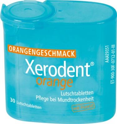 XERODENT Orange Lutschtabletten