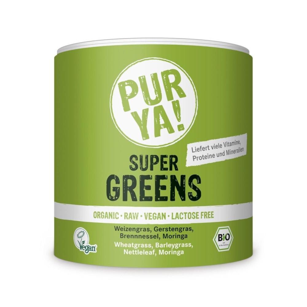 Organic Friends & Sports GmbH Purya Super Greens Bio Pulver 14277225