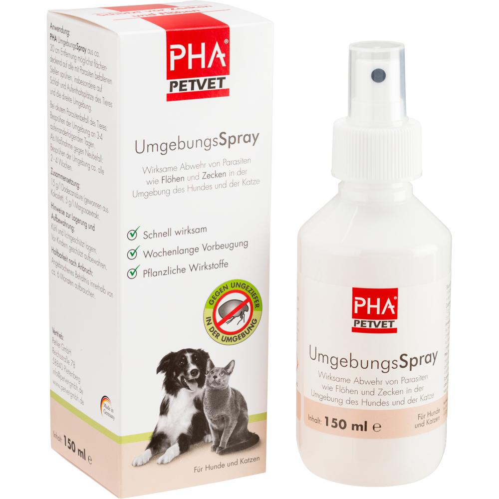 PetVet GmbH PHA UmgebungsSpray für Hunde und Katzen 12147688