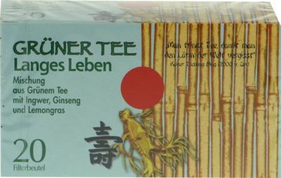 Allpharm Vertriebs GmbH GRÜNER TEE+Ingwer+Ginseng Filterbeutel 04401405