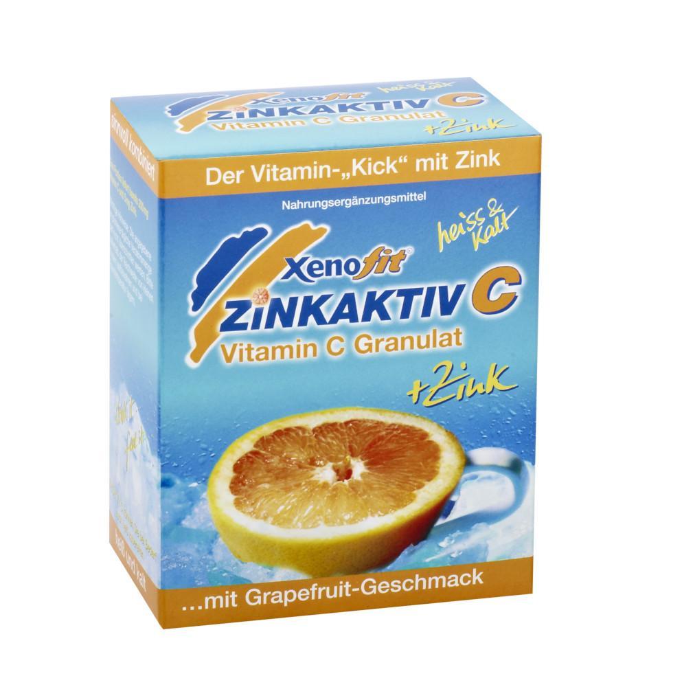 Xenofit GmbH XENOFIT Zinkaktiv C Granulat 02704834