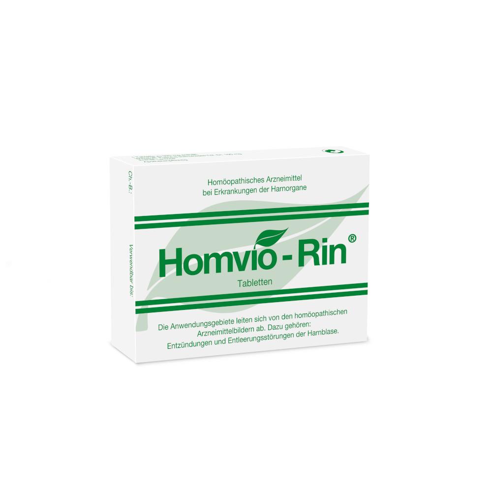 Homviora Arzneimittel Dr.Hagedorn GmbH & Co. KG HOMVIO-RIN Tabletten 02539588