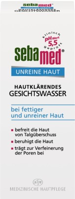 Sebapharma GmbH & Co. KG SEBAMED Unreine Haut Gesichtswasser 08467996