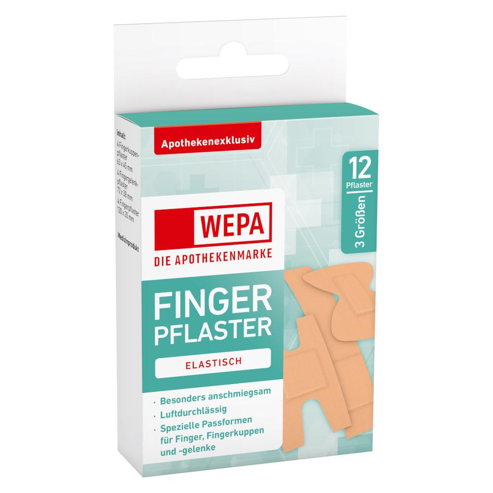 WEPA Apothekenbedarf GmbH & Co. KG WEPA FINGERPFLASTER ELASTISCH 3 Größen 16233947