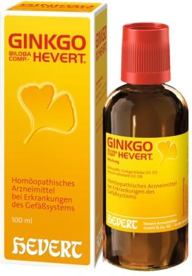 Hevert Arzneimittel GmbH & Co. KG GINKGO Biloba comp. HEVERT Tropfen 02767450