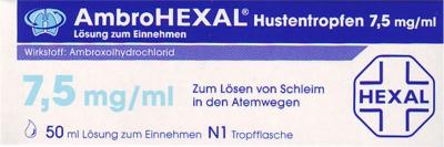 Hexal AG AmbroHEXAL Hustentropfen 7,5mg/ml 03691832