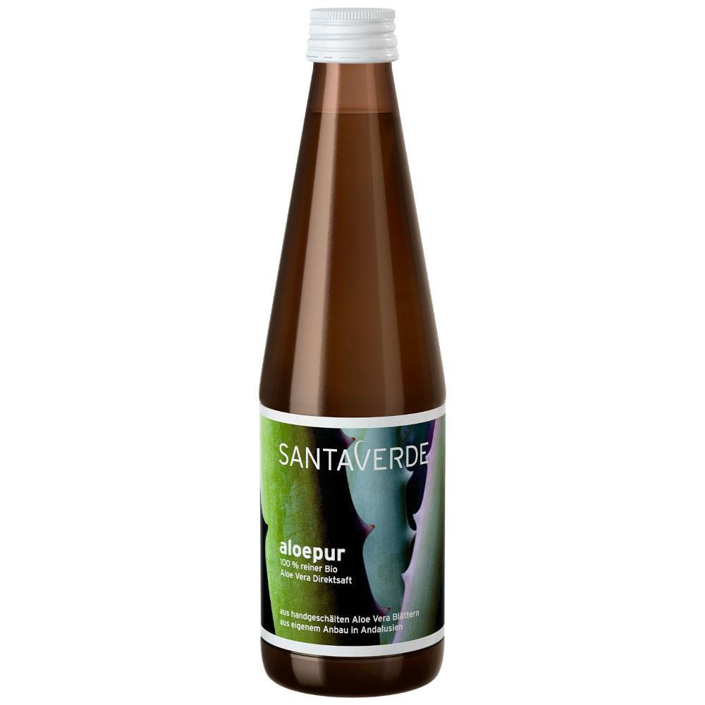 SANTAVERDE GmbH SANTA VERDE aloepur Aloe Vera Direktsaft 02480300
