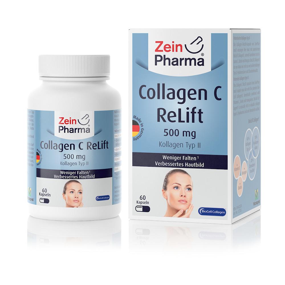 COLLAGEN C ReLift Kapseln 500 mg