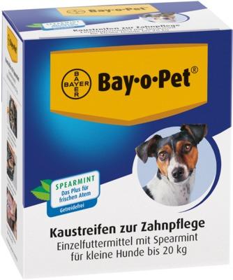 BAY O PET Zahnpflege Kaustreifen Spearmint für kleine Hunde