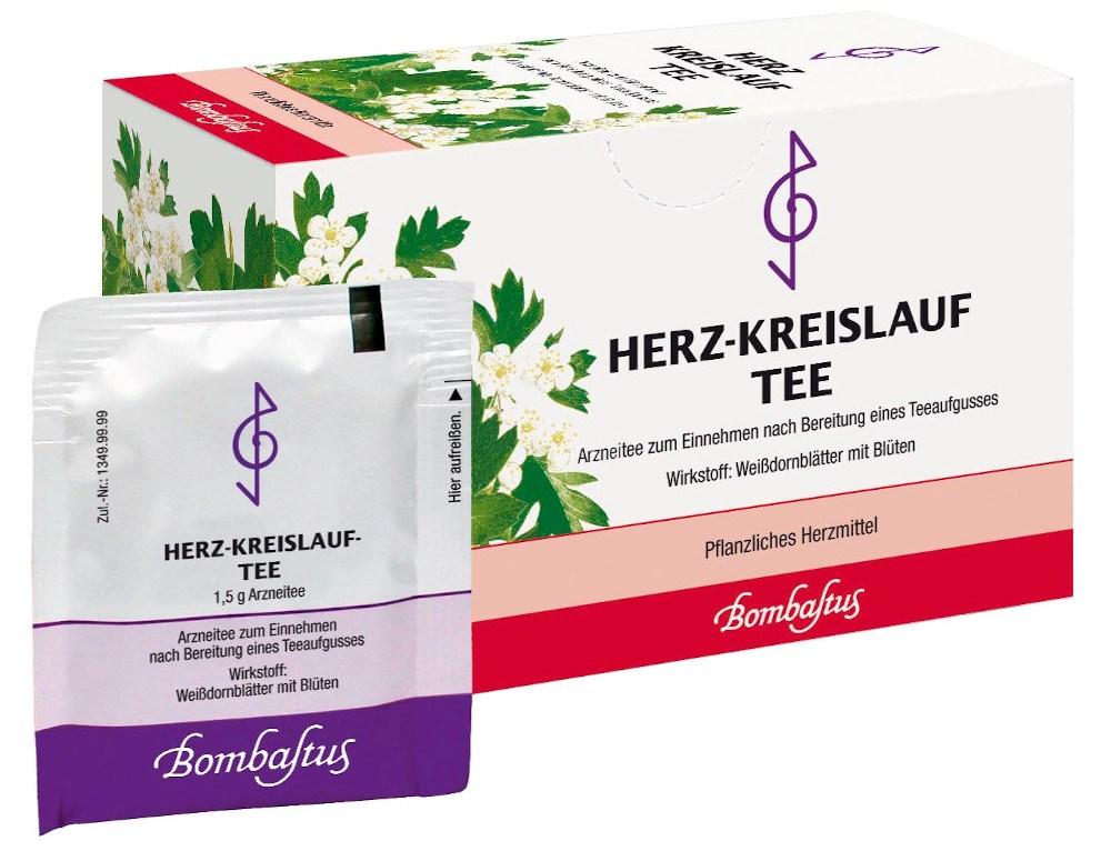 Bombastus-Werke AG HERZ-KREISLAUF-TEE BOMBASTUS 06862613