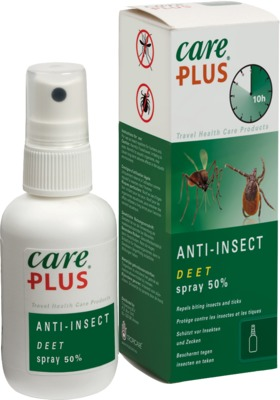 Tropenzorg B.V. CARE PLUS Anti-Insect Deet 50% Spray 12731223