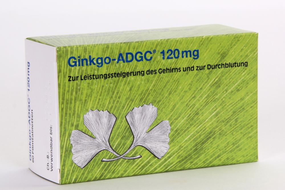 KSK-Pharma Vertriebs AG Ginkgo-ADGC 120 mg 13820414