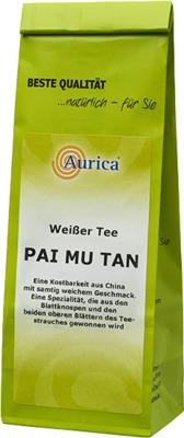 Aurica Naturheilmittel WEISSER TEE Pai Mu Tan 03923946