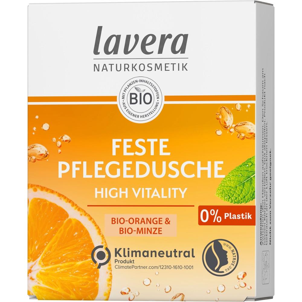 Laverana GmbH & Co. KG lavera FESTE PFLEGEDUSCHE Bio-Orange + Bio-Minze 16701006