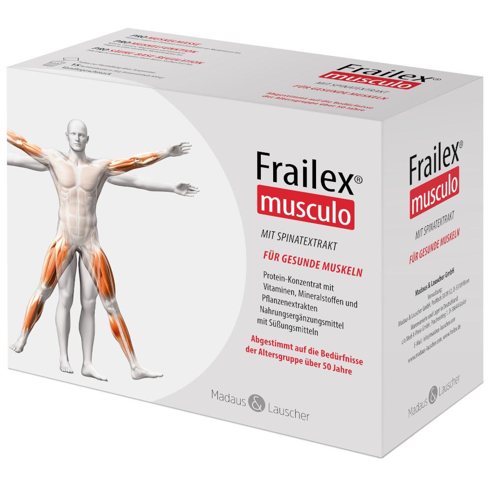 Frailex musculo Pulverbeutel a 28 g Vanille