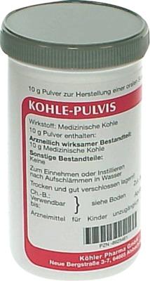 Köhler Pharma GmbH Kohle-Pulvis 08625461