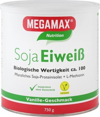 Megamax B.V. MEGAMAX Soja Eiweiß Vanille Pulver 03034583
