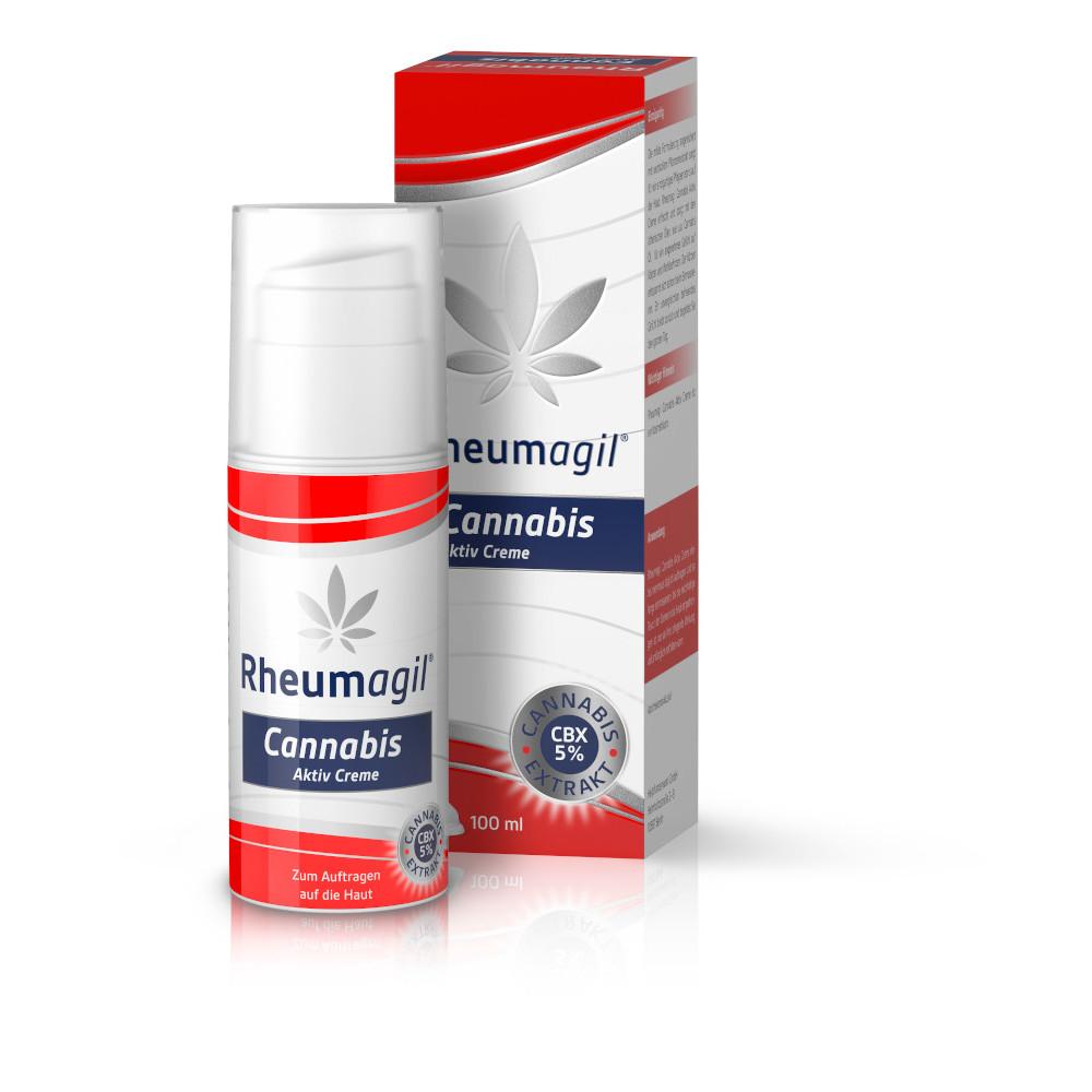Heilpflanzenwohl GmbH Rheumagil Cannabis Aktiv Creme 16086653