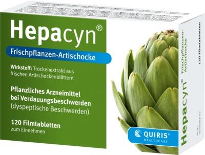 Quiris Healthcare GmbH & Co. KG Hepacyn Frischpflanzen-Artischocke 09155655
