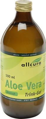 Allcura Naturheilmittel GmbH ALOE VERA TRINK-GEL 00744261
