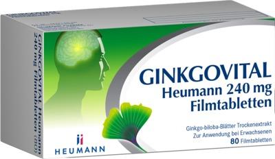 HEUMANN PHARMA GmbH & Co. Generica KG GINKGOVITAL Heumann 240mg 11526277