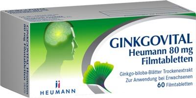 HEUMANN PHARMA GmbH & Co. Generica KG GINKGOVITAL Heumann 80mg 11526202