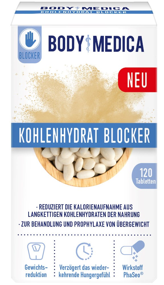 DISTRICON GmbH BODY MEDICA KOHLENHYDRAT BLOCKER 16233048