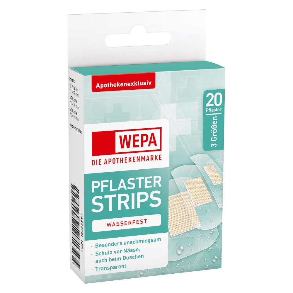 WEPA Apothekenbedarf GmbH & Co. KG WEPA PFLASTER STRIPS WASSERFEST 3 Größen 16233887