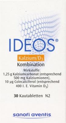 Laboratoire Innotech International Ideos 500mg/400 I.E. 00578182