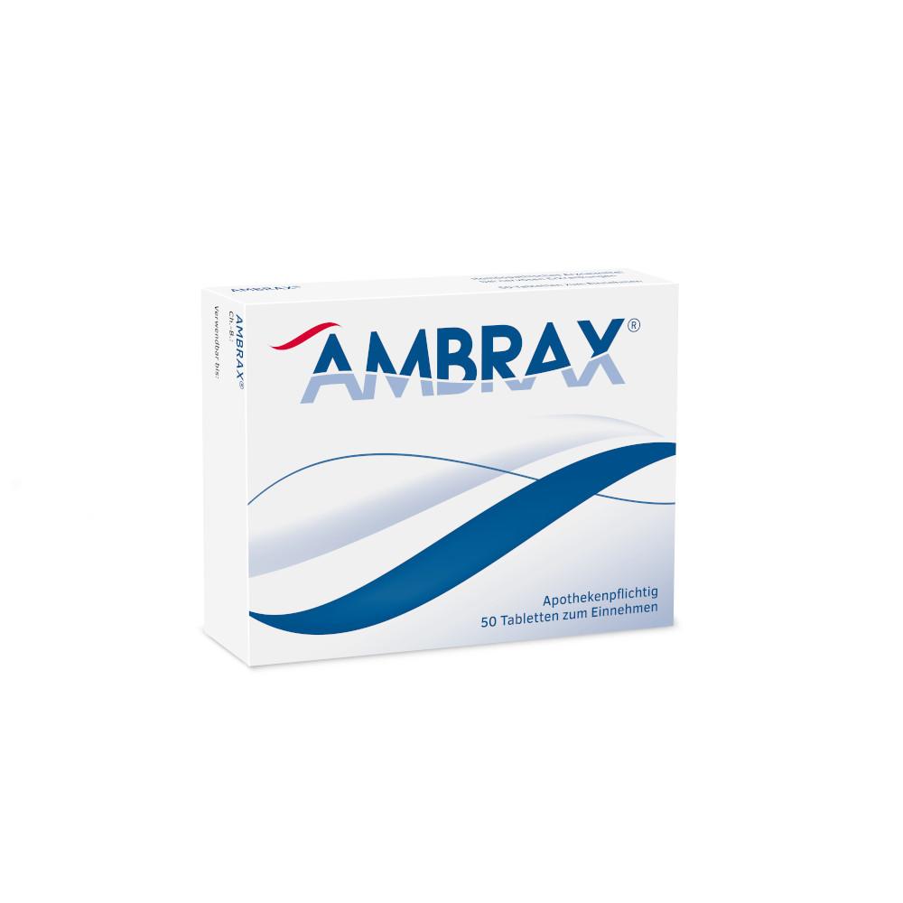 Homviora Arzneimittel Dr.Hagedorn GmbH & Co. KG AMBRAX Tabletten 01277494