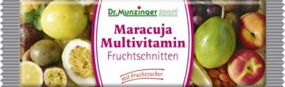 Dr. Munzinger Maracuja Multivitamin Fruchtschnitte